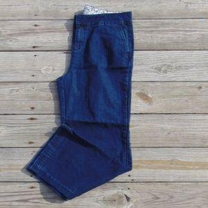 Denim&Co Size 14 Dark Wash Trouser Jeans